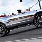 Chevrolet Camaro cu jante de 32 inch, opera de arta sau kitsch?