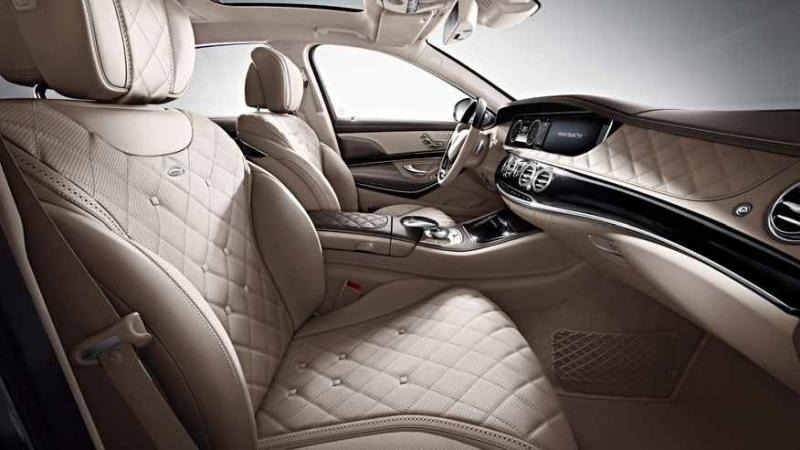 Mercedes-Maybach Pullman limuzina interior 2