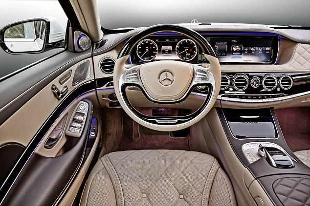Mercedes-Maybach Pullman limuzina interior