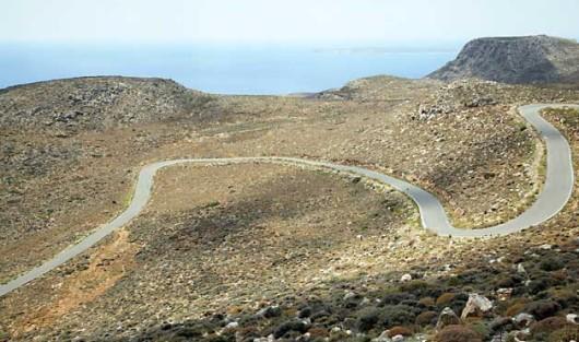 Drumul Patiopoulu - Perdikaki. Grecia