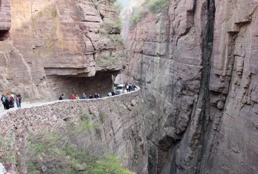 Drumul-tunel Guoliang, China