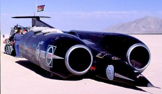 Thrust SSC record