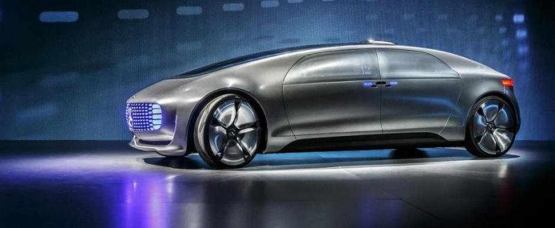 mercedes f 015 luxury limuzina viitor