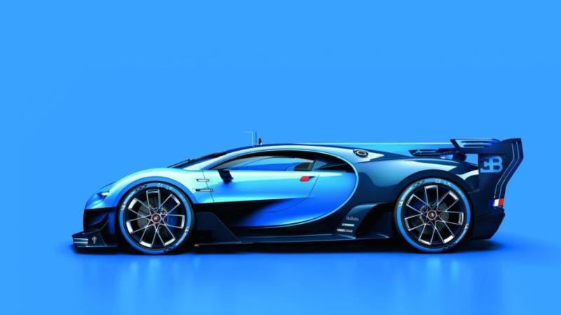 Imagini concept Bugatti Vision Gran Turismo 2