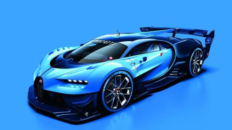 Imagini concept Bugatti Vision Gran Turismo