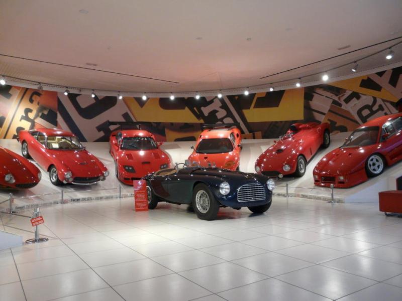 galeria ferrari muzeu