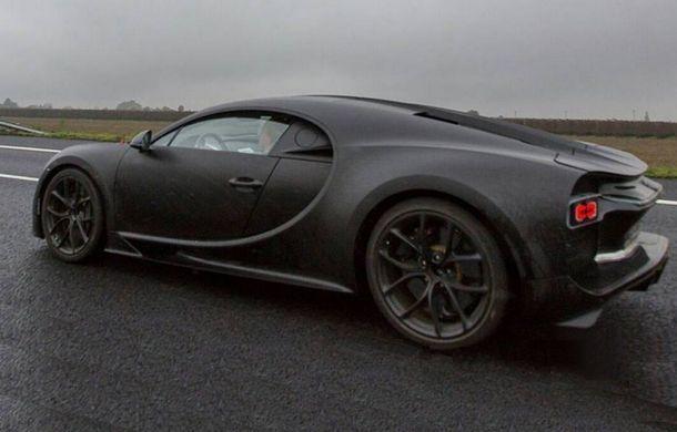 Bugatti Chiron poza oficiala