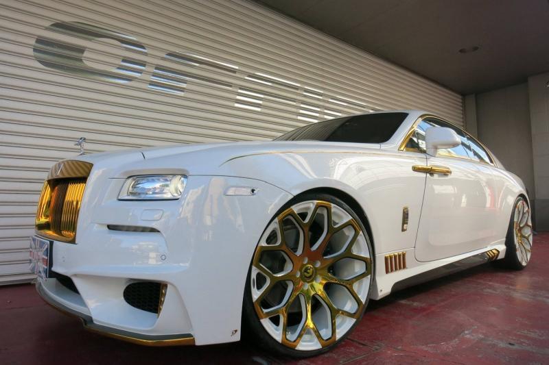 Rolls Royce Wraith tuningat 2