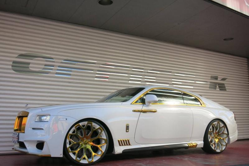 Rolls Royce Wraith tuningat 3