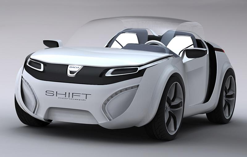 dacia shift concept