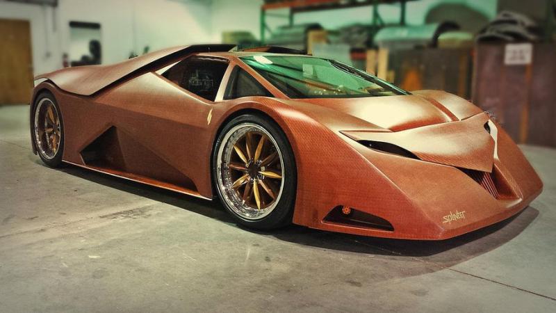 automobil lemn