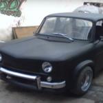 Primul model Dacia 1100 adus in zilele noastre TUNING