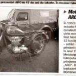 Prima motocicleta romaneasca: IMS 53 sau Motocicleta ARO
