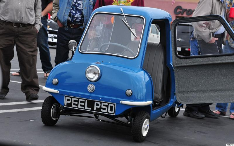 Peel P50 masina mica