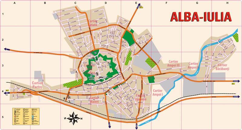 harta alba iulia