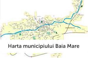 harta  baia mare