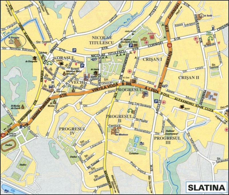 harta slatina