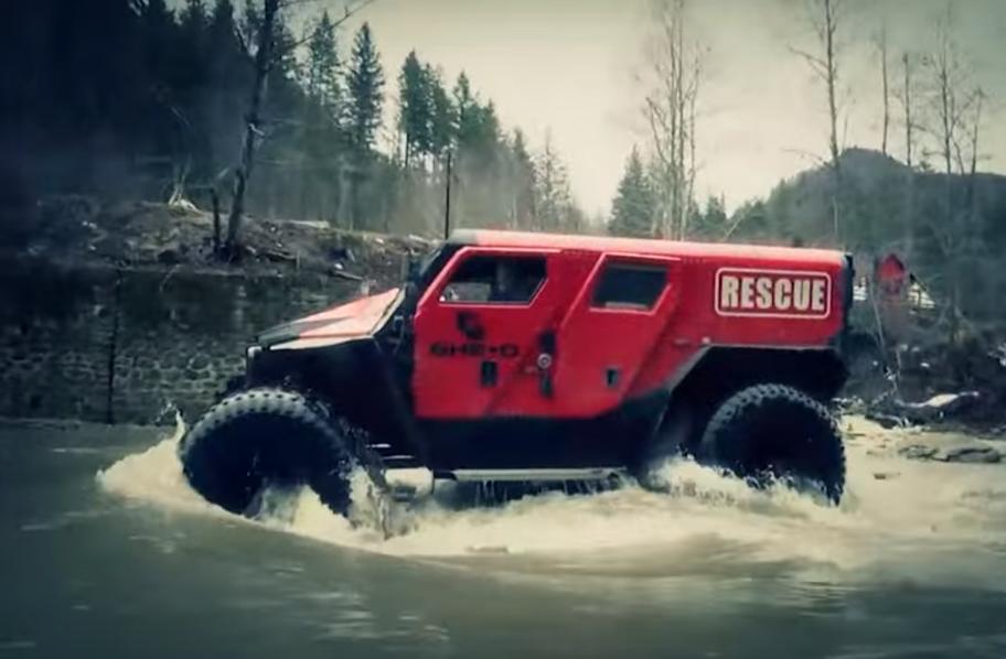 rescue masina
