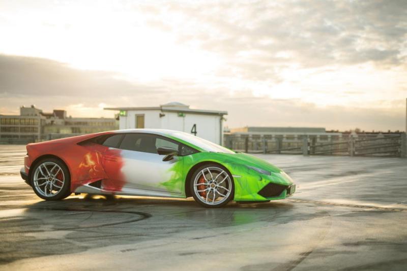 Lamborghini Huracan LP610-4 folie 2