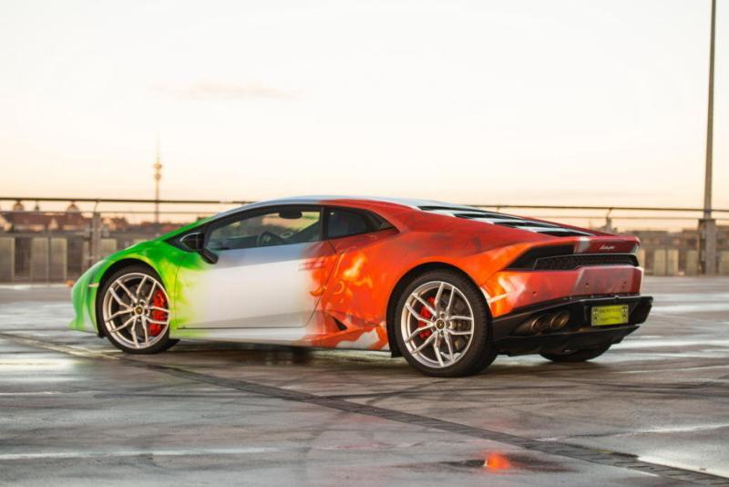 Lamborghini Huracan LP610-4 folie