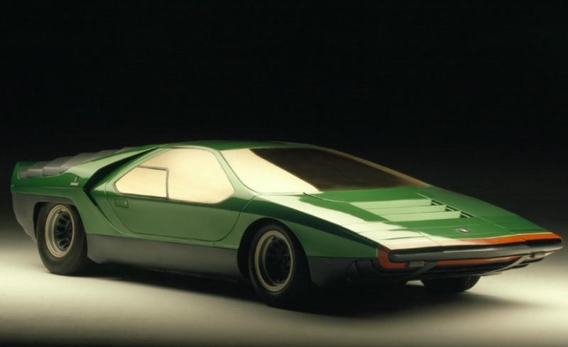 alfa romeo carabo concept masina