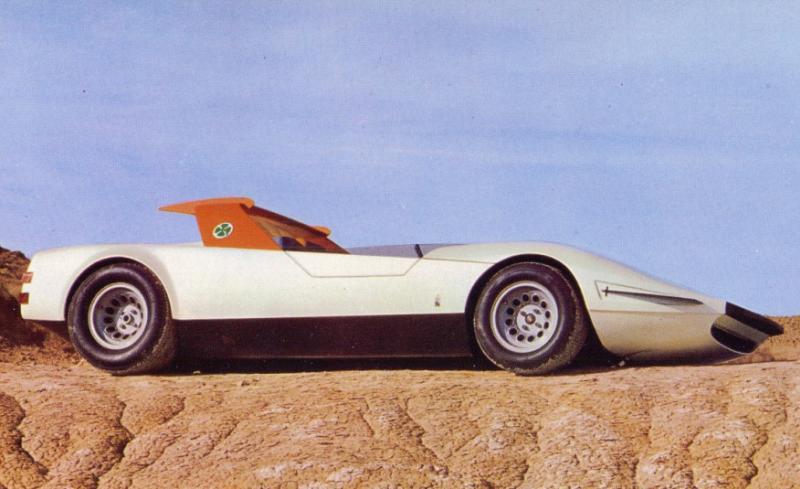 alfa romeo p33 concept masina