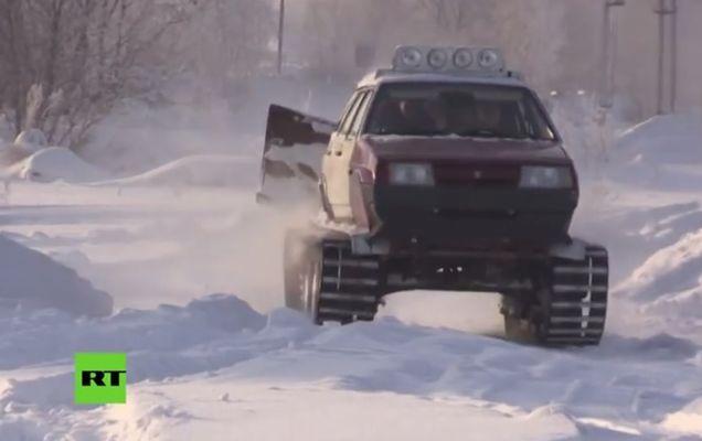 autovehicul lada tanc