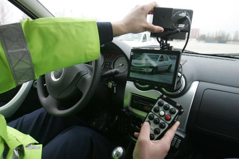 radar politie viteza mare