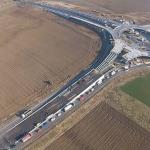Primul sens giratoriu suspendat din Romania. Proiect spectaculos de infrastructura