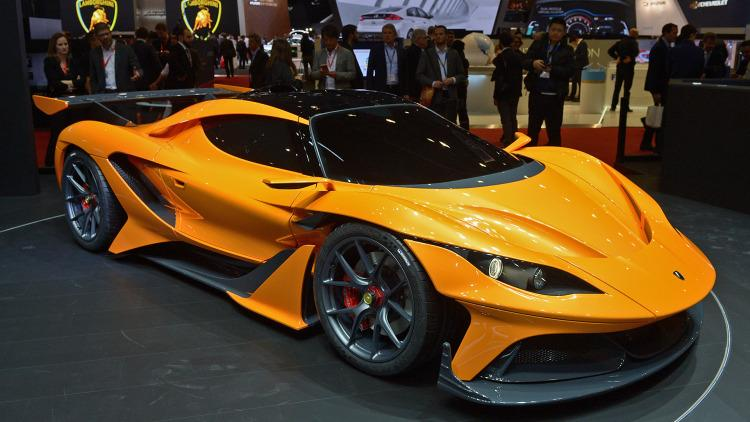Apollo Arrow salon auto geneva 2016