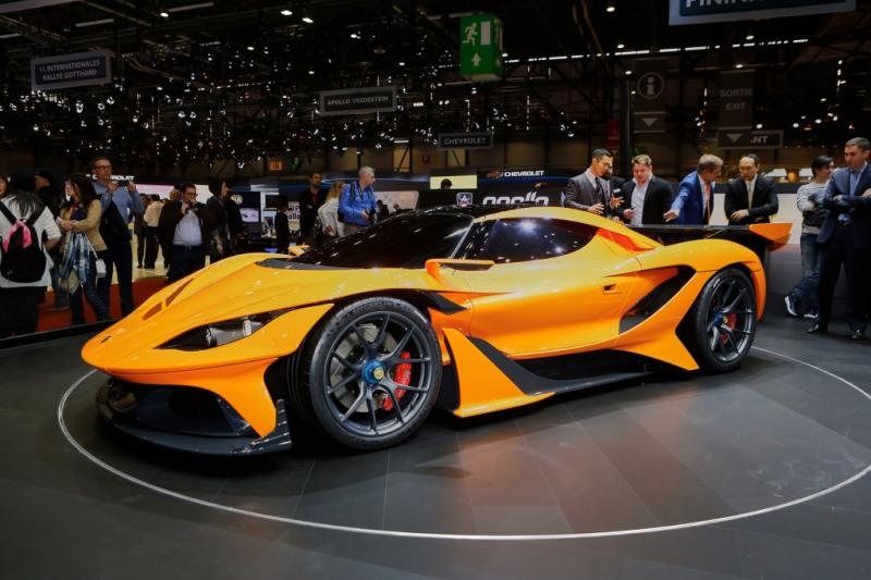 Apollo Arrow salon auto geneva