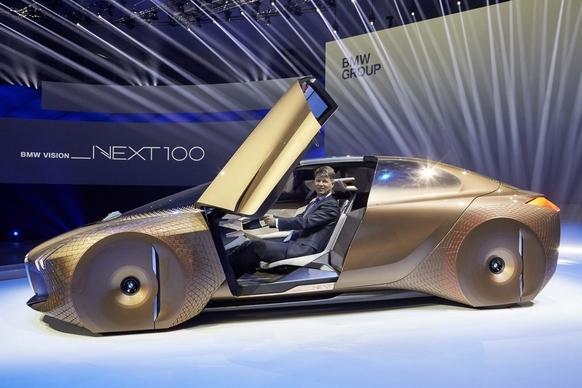 BMW Vision Next 100 concept masina aniversare 3