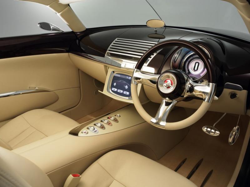 Holden Efijy concept masina interior