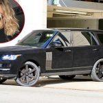 Un Range Rover imbracat cu catifea neagra pentru Khloe Kardashian