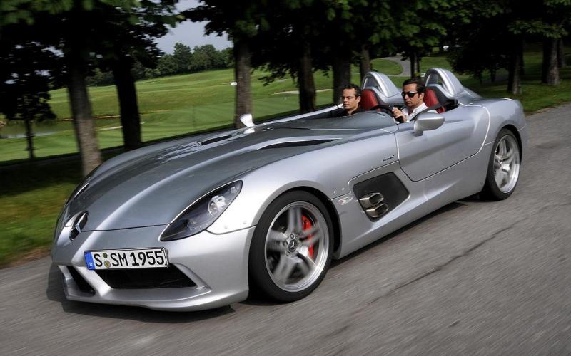 Mercedes SLR Stirling Moss licitatie