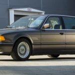 Una dintre minunile tehnologice BMW din anii 80: Seria 7 cu motor V16 de 6.7 litri