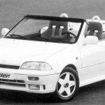 Suzuki Swift Speedster: Masina anilor '90 fara plafon si parbriz