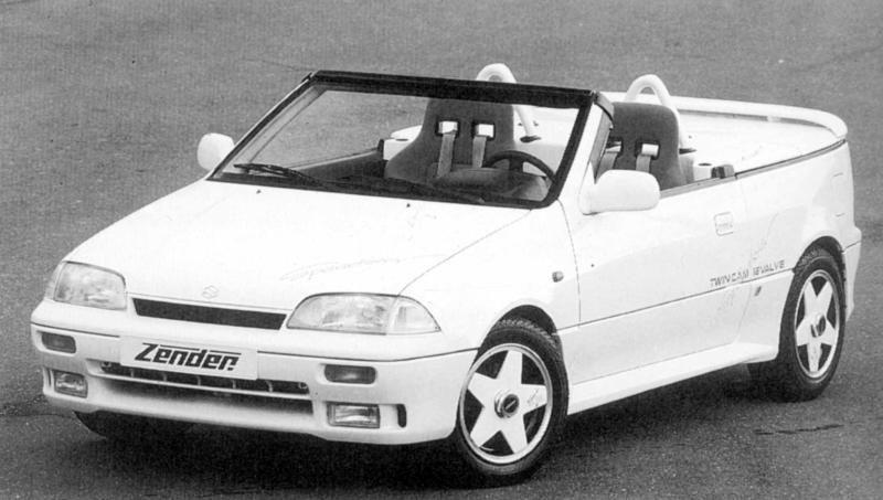Suzuki Swift Speedster