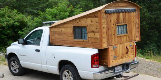 cabana lemn masina portbagaj
