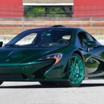 McLaren P1: Fascinanta masina cu o caroserie din carbon verde